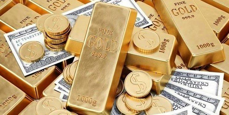 افت 5 دلاری قیمت طلا در بازار جهانی