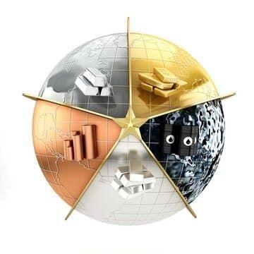 فراز و فرود قیمت فلزات در بازارهای جهانی