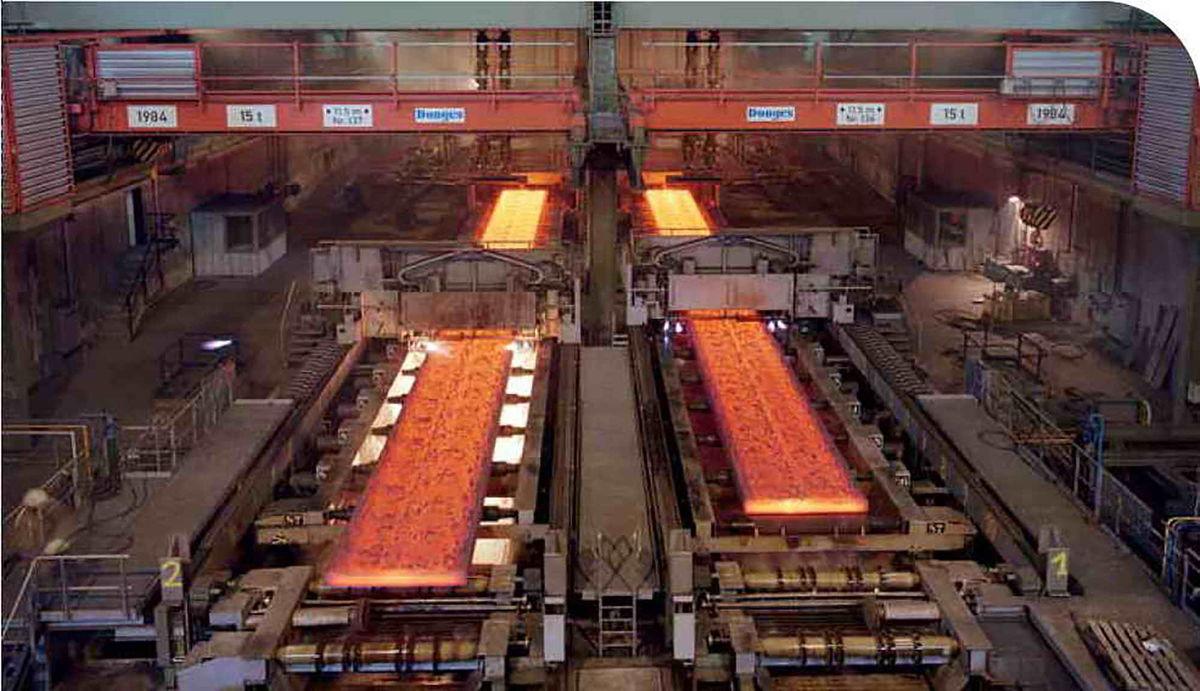 عرضه ۲۳۰هزار تن شمش، تختال و ورق فولاد در بورس کالا