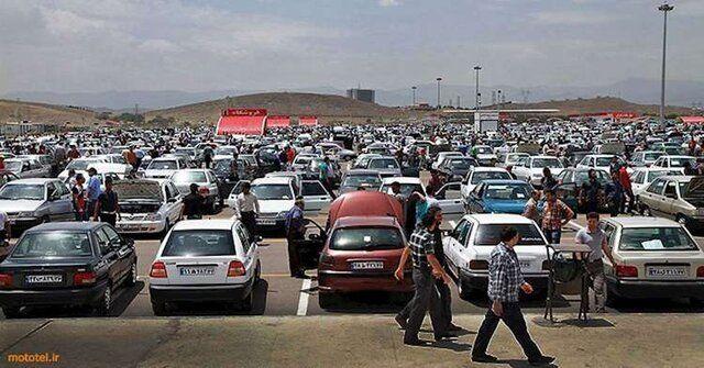 قیمت خودروها در بازار افزایشی / نوسان ۱ تا ۵ میلیون تومانی در بازار