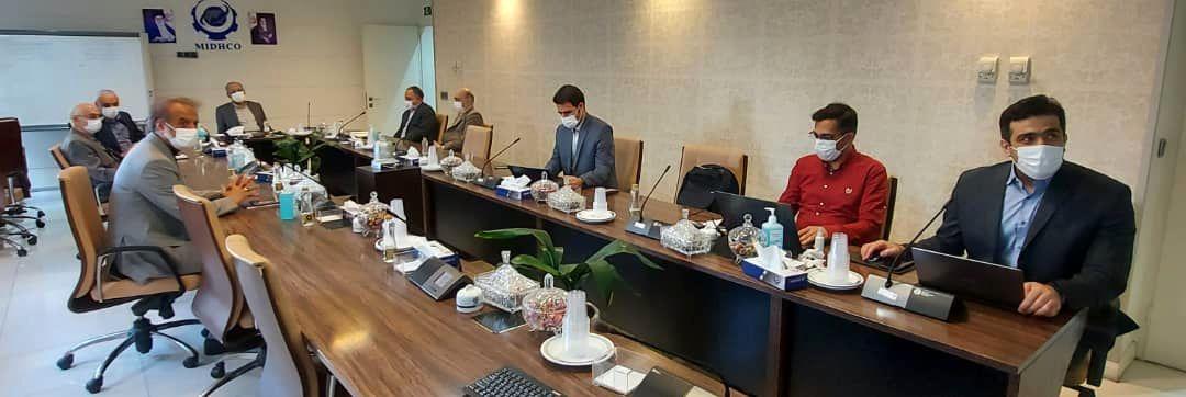 به طور همزمان در تهران، کرمان و اصفهان یکصد و شصت و سومین جلسه تولید میدکو برگزار شد
